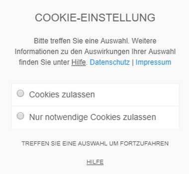Cookie Hinweis mit dem Borlabs-Cookie-Plugin