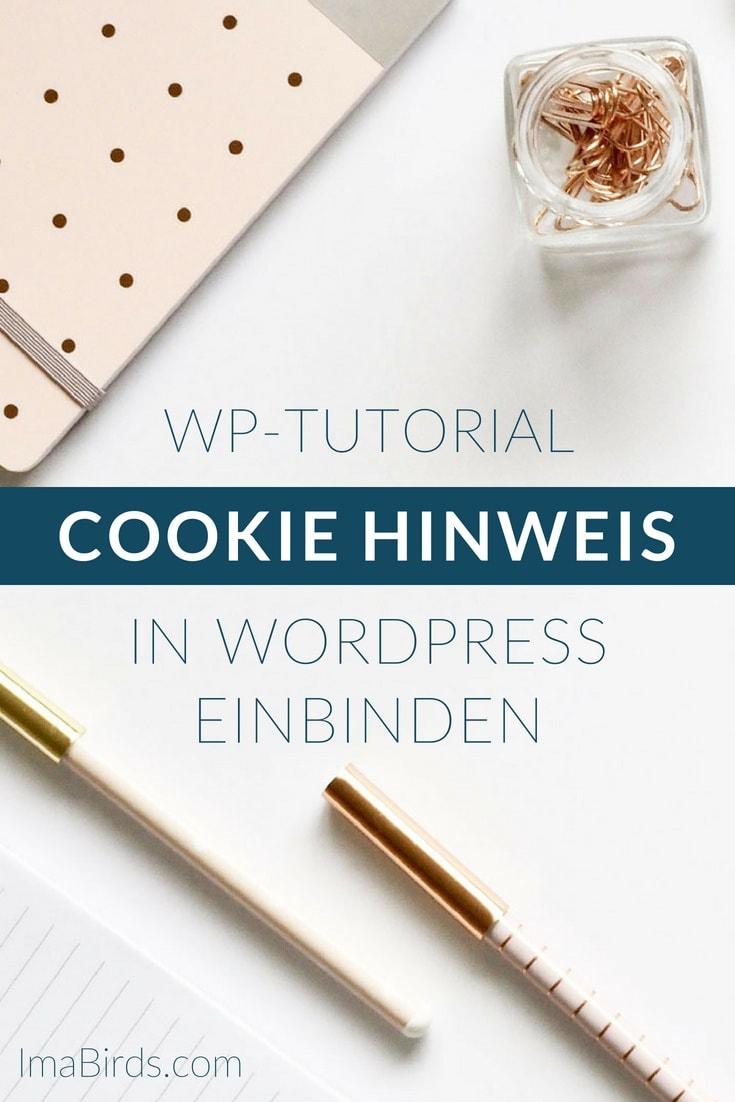 Cookie Richtlinie – Cookie Banner auf deine Webseite einbinden