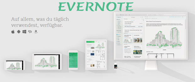 Notizen festhalten in Evernote