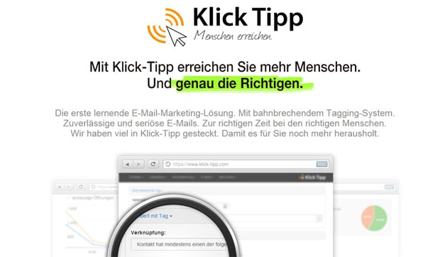 E-Mail Marketing mit Klick Tipp