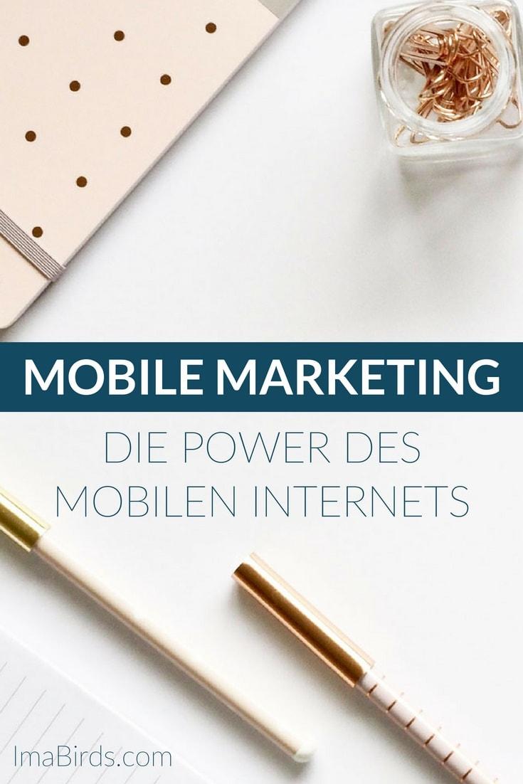 Mobile Marketing ist ein Sammelbegriff für Werbemaßnahmen, die ausschließlich über das mobile Internet - also Smartphones und Tablets - abgewickelt werden.