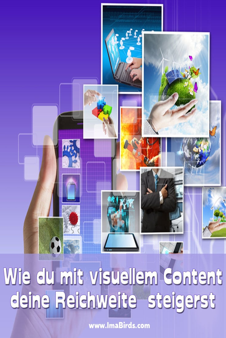 Content-Marketing gilt seit geraumer Zeit als der Heilige Gral im Online Marketing. Visueller Content sorgt für mehr Aufmerksamkeit und Reichweite.