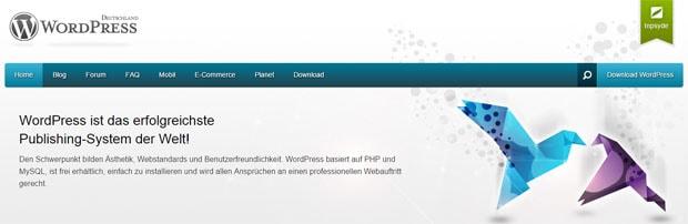 WordPress CMS-System