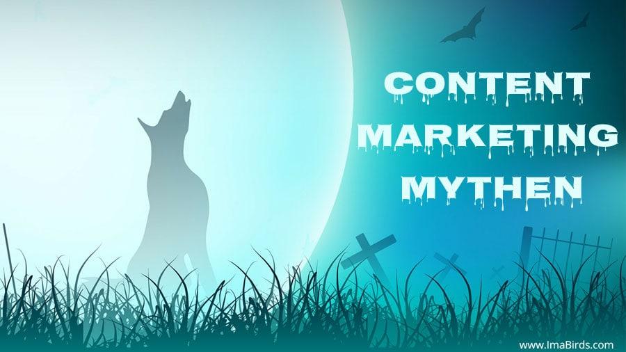 Content Marketing Mythen, die zum Himmel schreien