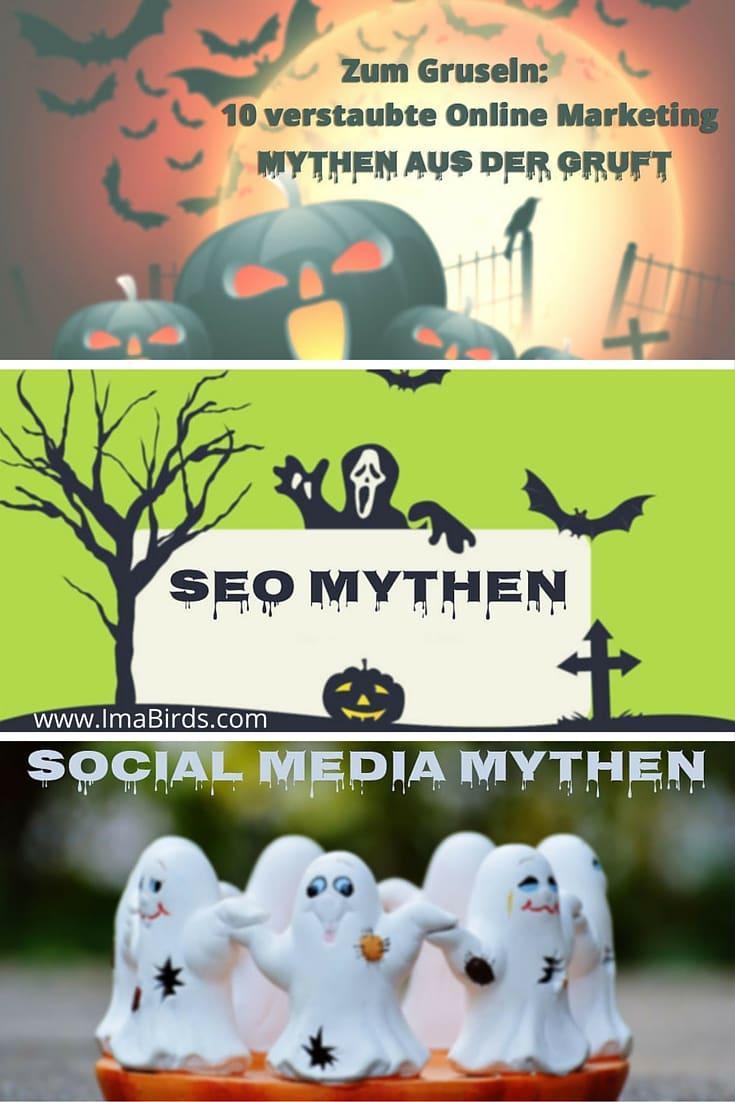Zum Gruseln: 10 verstaubte Online Marketing Mythen aus der Gruft