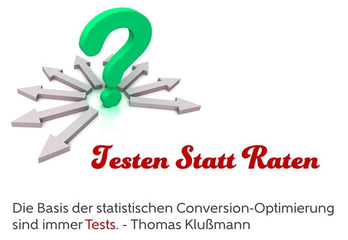 Die Conversion durch Splittests optimieren - Thomas Klußmann