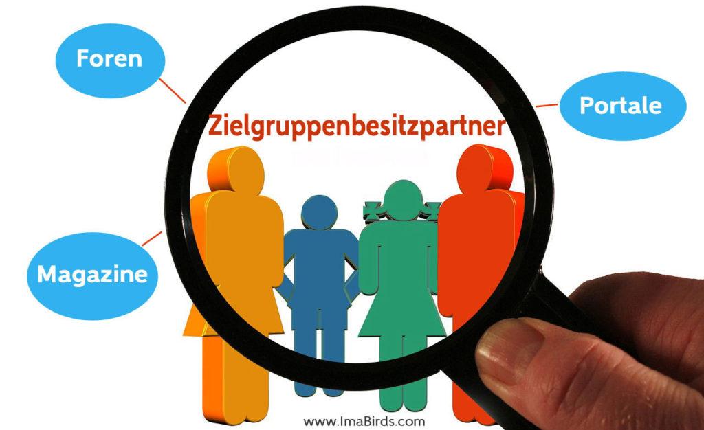 Arten Zielgruppenbesitzpartner nach Pascal Feyh