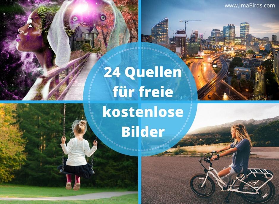 Die 24 besten Quellen für freie kostenlose Bilder