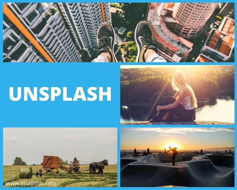 Unsplash und Re-Splash - kostenlose Bilder per Mail