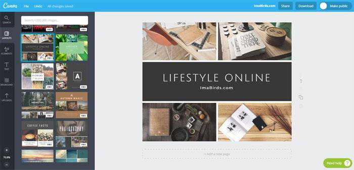 Canva - Kostenloses Bildbearbeitungsprogramm
