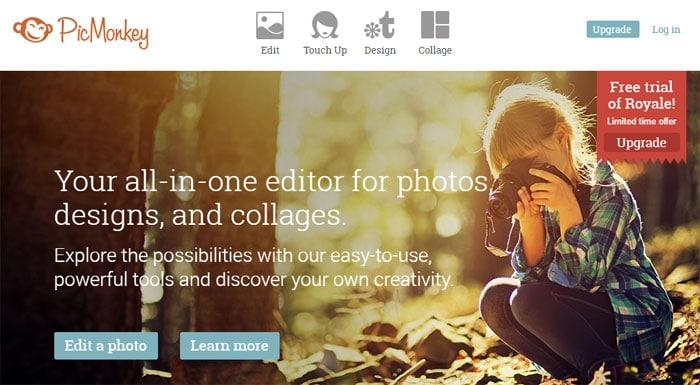 Alternative zu Photoshop - Bilder bearbeiten mit PicMonkey