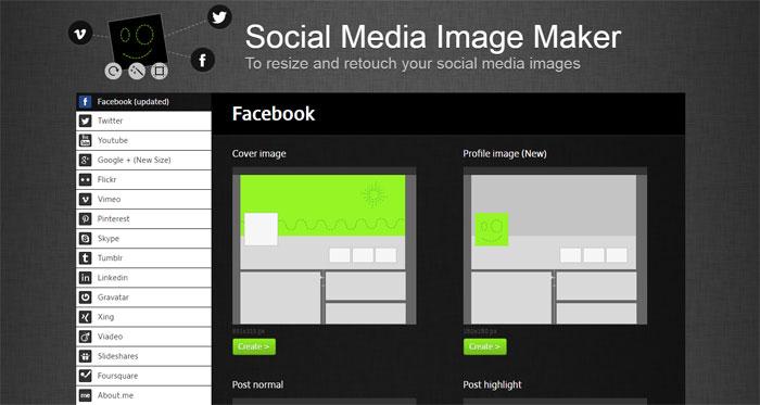 Einfach und schnell Social-Media-Bilder erstellen mit Pigmatic