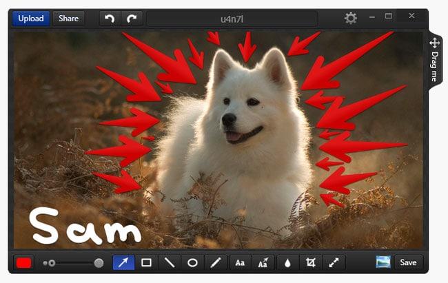 Bildschirm aufnehmen mit kostenlosem Screenshot-Tool Monosnap