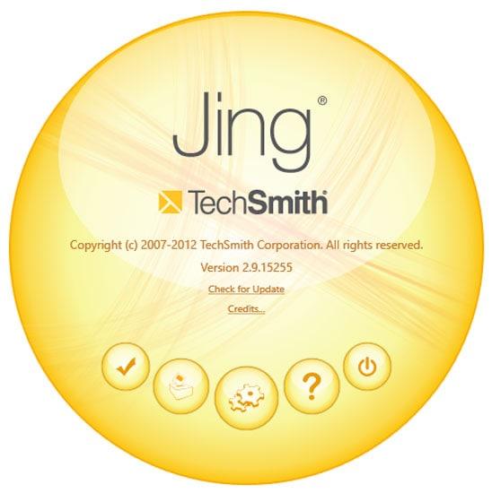 Jing-Screenshot-Tool - Einstellungen