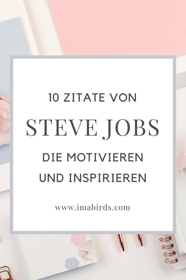 10 inspirierende und motivierende zitate von steve jobs. Black Bedroom Furniture Sets. Home Design Ideas