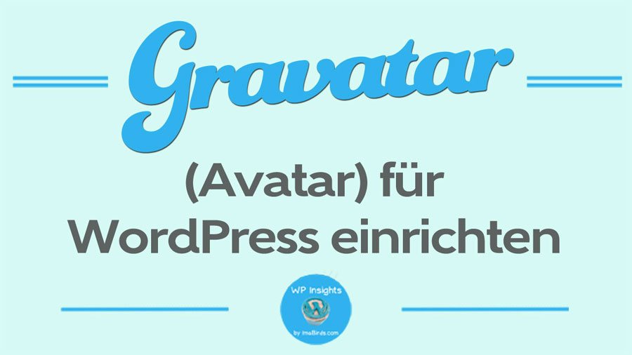 Gravatar (Avatar) erstellen
