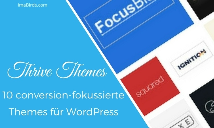 Thrive Themes - 10 conversion-fokussierte Themes für WordPress