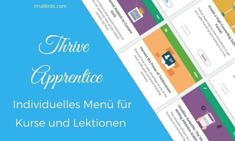 Thrive Apprentice Plugin von Thrive Themes zum Erstellen von Online-Kursen