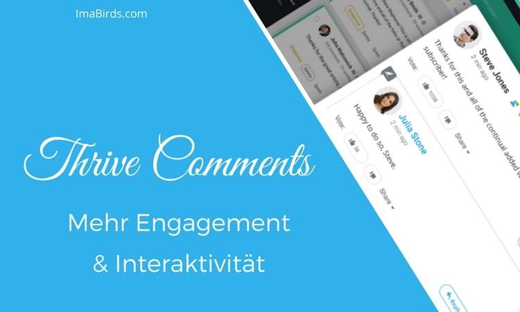 Thrive Comments für mehr Engagement & Interaktivität
