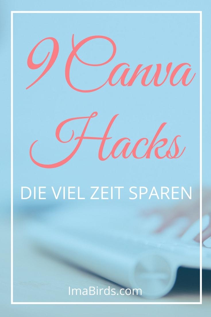 9 Canva Hacks, die dir viel Zeit sparen