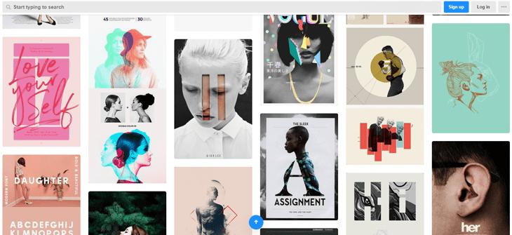 Design-Ideen von Designinspiration