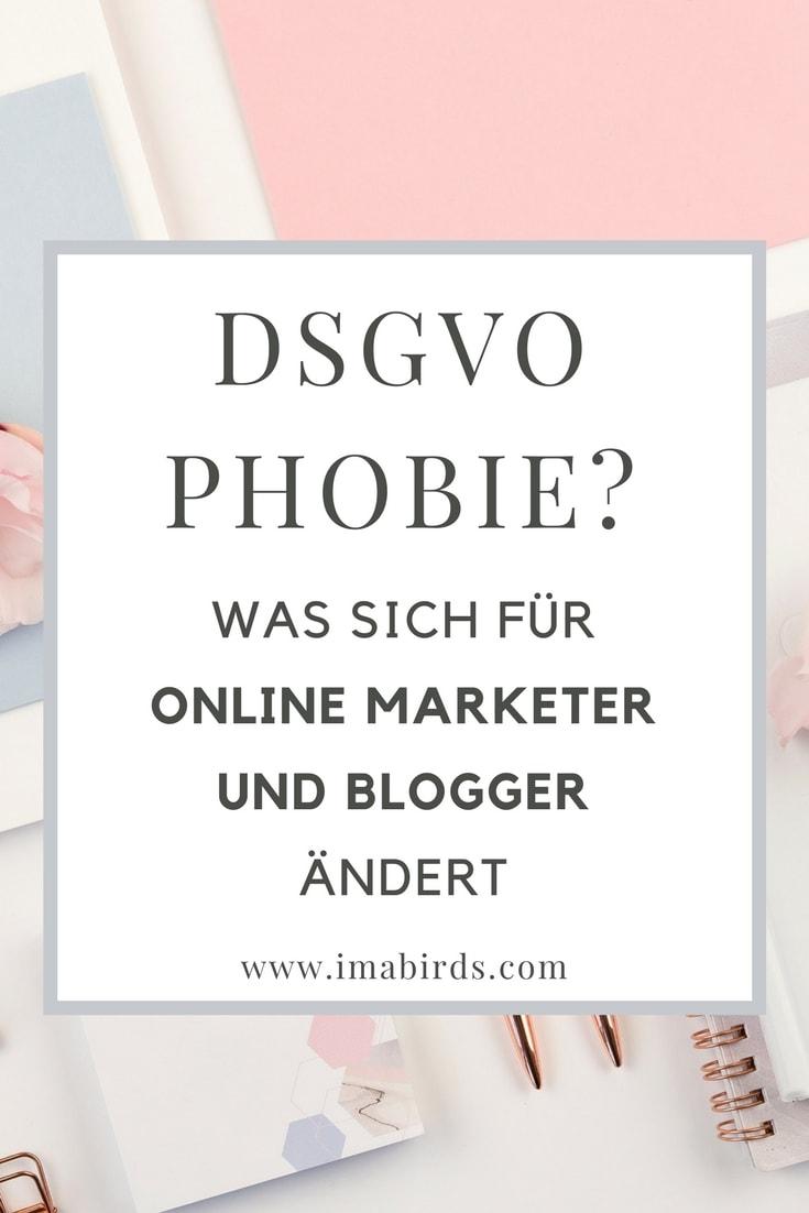 DSGVO - Was sich für Online Marketer und Blogger ändert