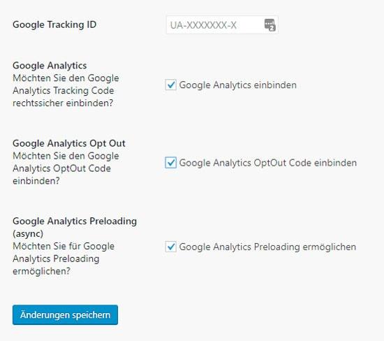 Google-Analytics anonymisieren mit dem Rechtstexte-Plugin von eRecht24