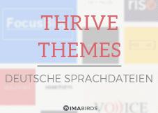 Deutsche Sprachdateien für Thrive Themes kostenlos downloaden