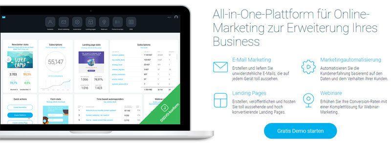 Newsletter-Tool GetResponse, die Online Marketing Komplettlösung