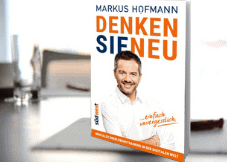 """Buch-Geschenk """"Denken Sie neu"""" von Markus Hofmann"""