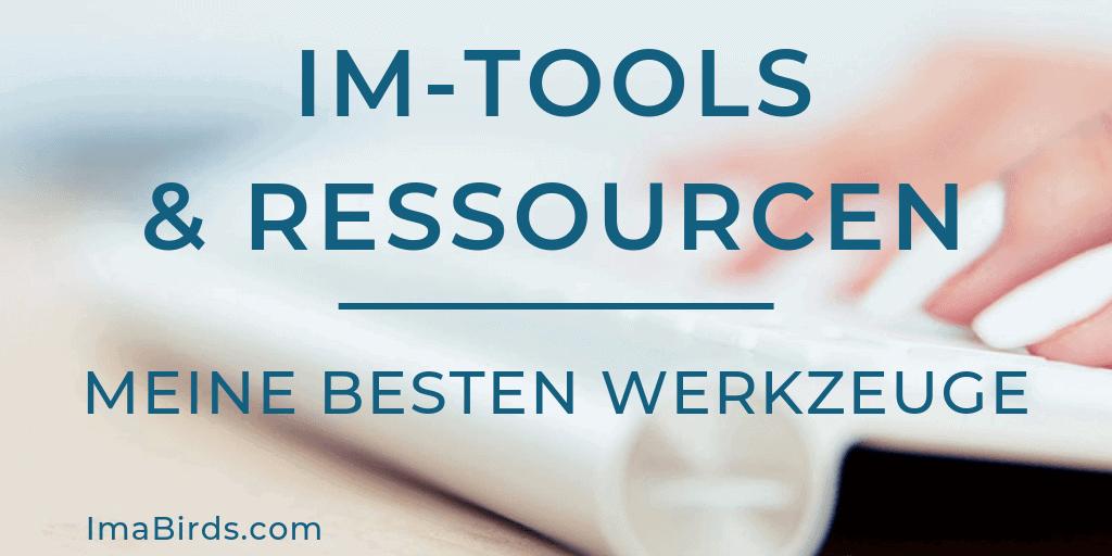 Die besten Online Marketing Tools und Ressourcen - Meine liebsten Werkzeuge
