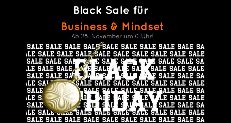 Black Friday Sale bei 5 Ideen von Dave Brych