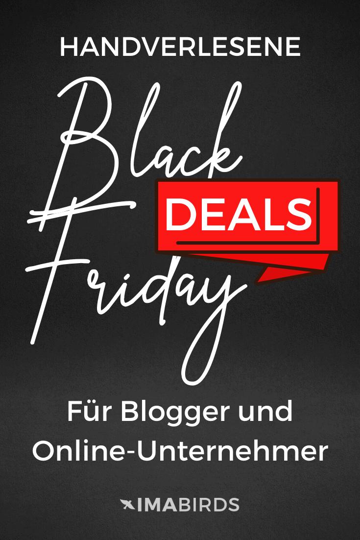 Handverlesene Black Friday & Cyber Monday Deals für Blogger und Online Unternehmer