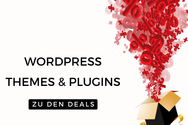 Wordpress Themes und Plugins im Black Friday Sale