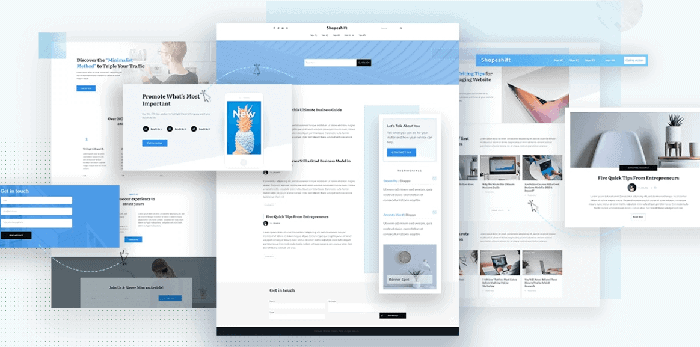 Thrive Theme Builder mit Shapeshift und Thrive Architect Light