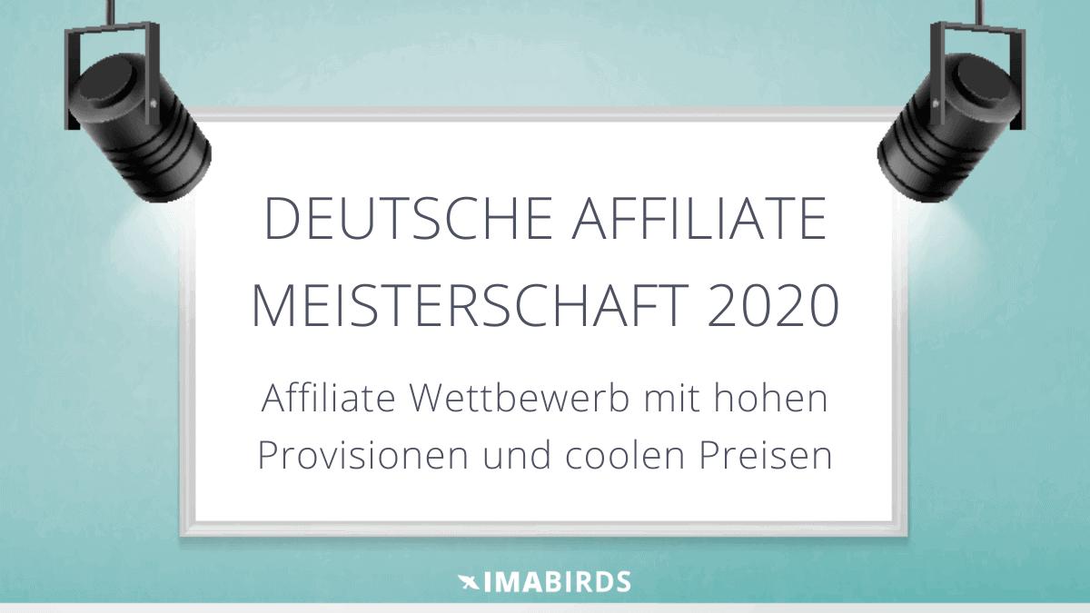 Deutsche Affiliate Meisterschaft 2020 - Affiliate Wettbewerb von Ralf Schmitz