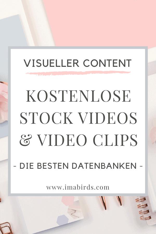 Datenbanken für kostenlose Stock Videos und Video Clips
