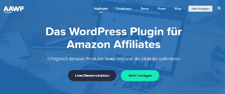 AAWP - Das WordPress Plugin für clevere Amazon Affiliates