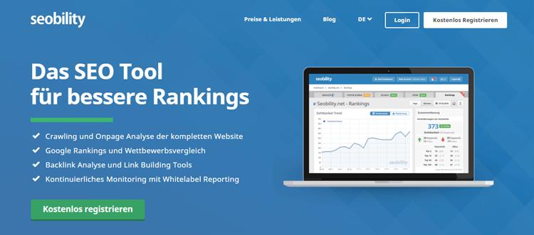 Seobility für bessere Rankings