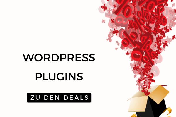 WordPress Plugins - Die besten Black Friday Deals