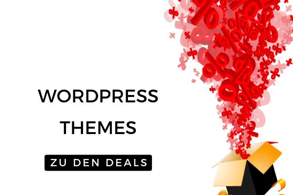 WordPress Themes - Die besten Black Friday Deals