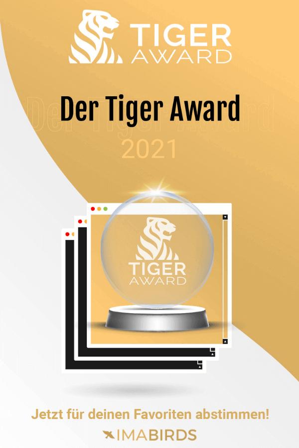 Nominierung für den Tiger Award 2021
